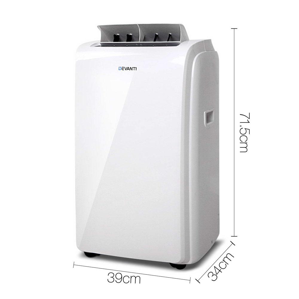 New Portable Air Conditioner Fan Heater Dehumidifier