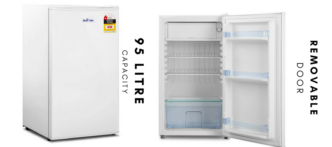 The Compact Mini Small Bar Fridge Freezer Has A Separate Chiller Compartment With Crisper Drawer And Features Six Adjule Temperature Levels